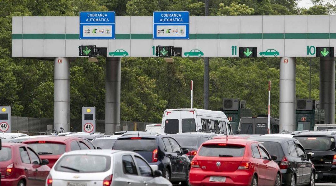 Radares multam alta velocidade em 12 praças de pedágios de São Paulo