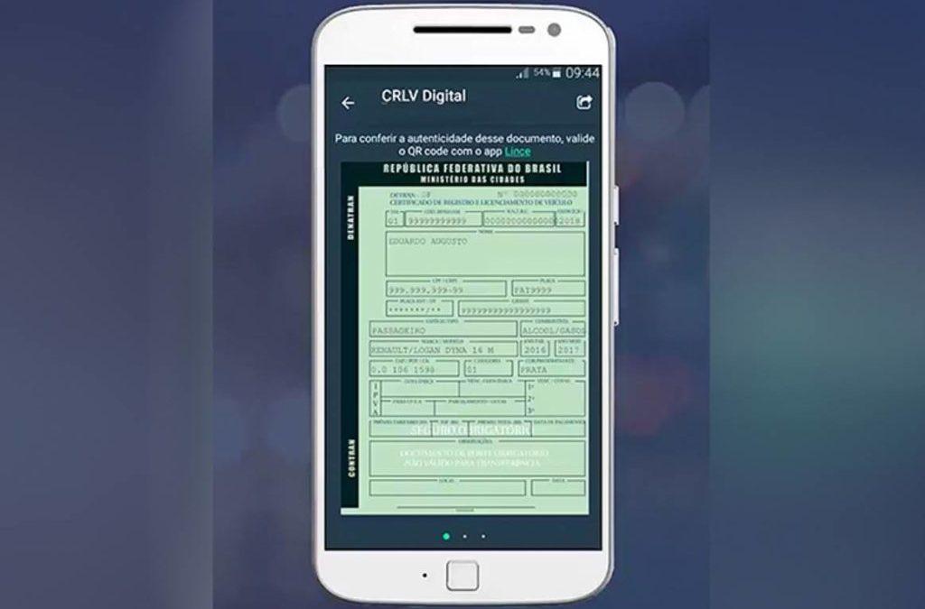 CRLV digital já está disponível em São Paulo