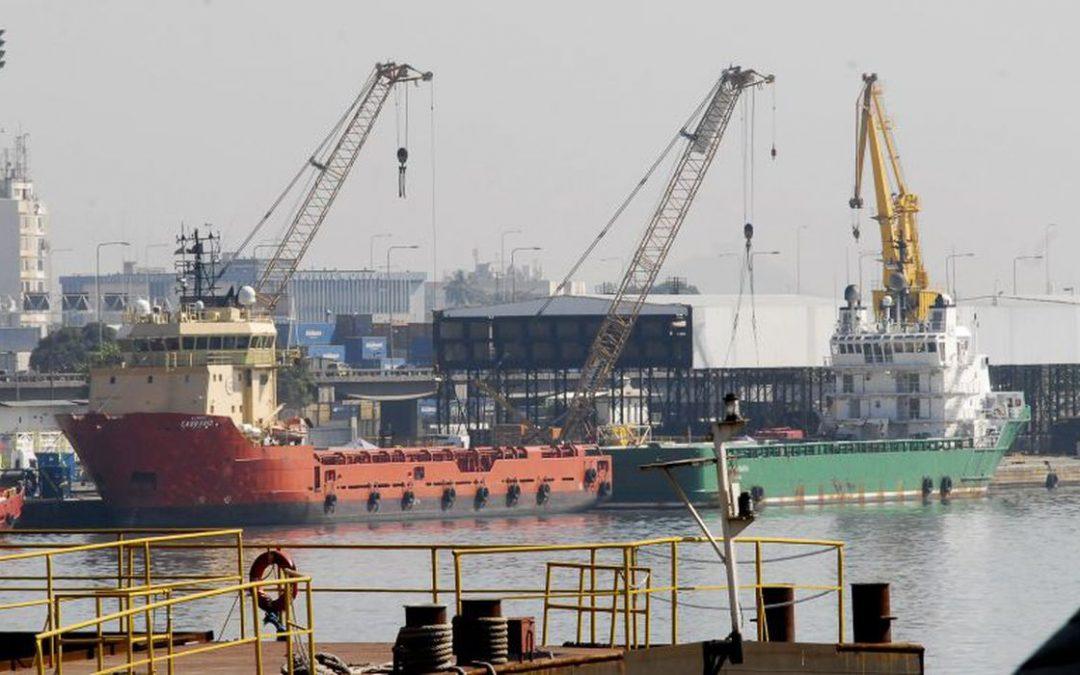 Movimentação portuária cai 1,6% em 2019