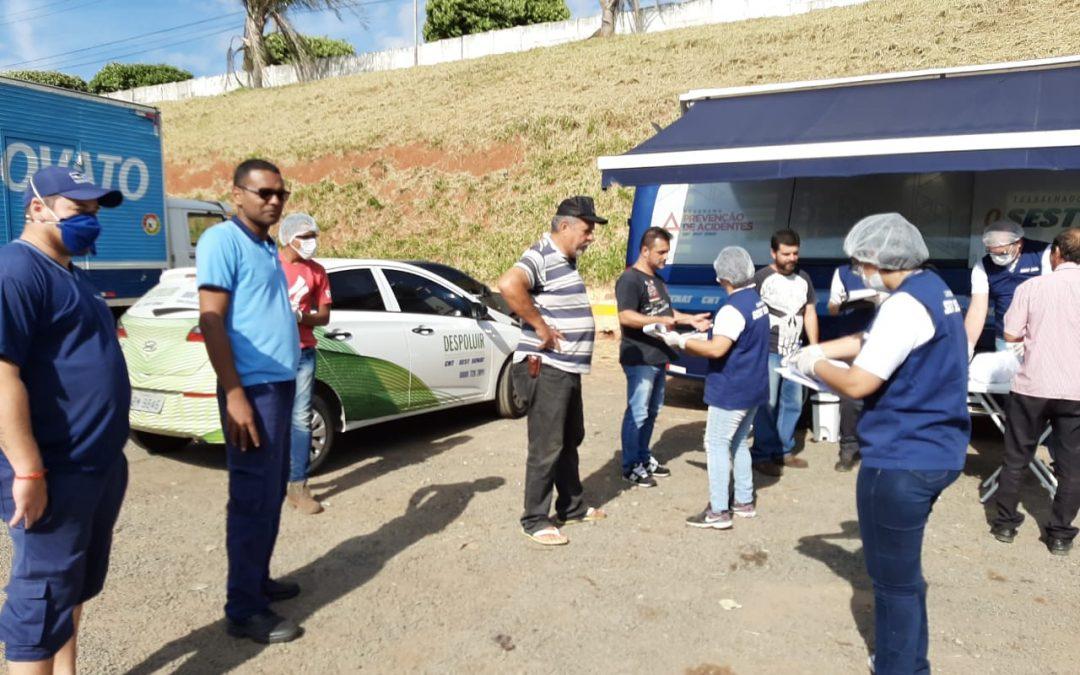 FETCESP participa da mobilização do Sest Senat nas estradas