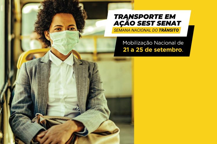 SEST SENAT realiza mobilização nacional na Semana do Trânsito
