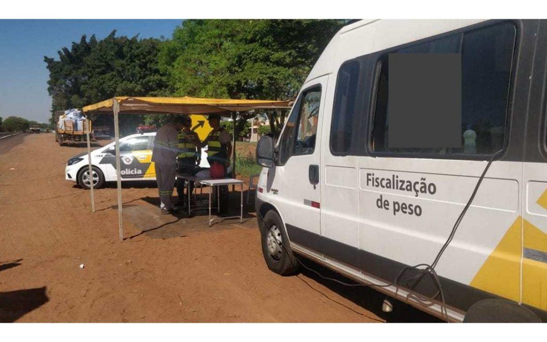 DER retoma pesagem de caminhões nas rodovias paulistas