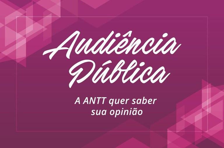 ANTT abre audiência pública sobre revisão do RNTRC