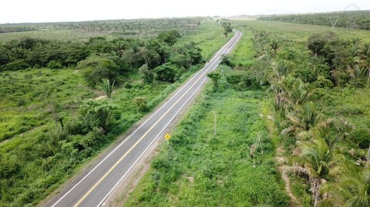 Governo Federal entrega mais 50 km de pista recuperada na BR-135/MA