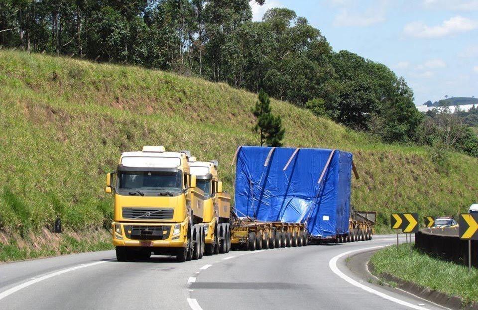 Resultado de imagem para Alterada resolução sobre transporte de cargas indivisíveis e excedentes