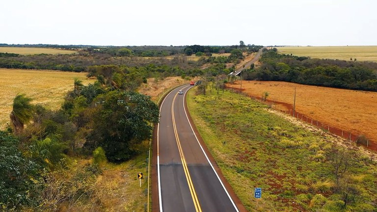 Rodovia estratégica para o agronegócio nacional é restaurada pelo Governo Federal